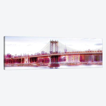 NYC Bridge Canvas Print #PHD427} by Philippe Hugonnard Art Print