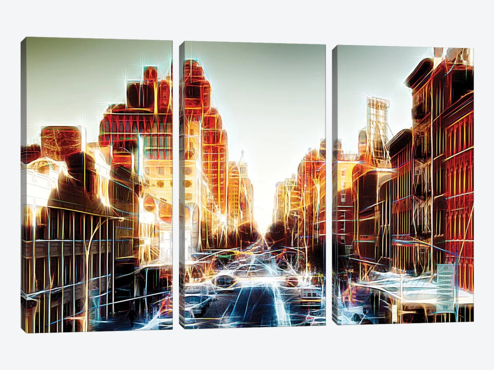 Outlook by Philippe Hugonnard 3-piece Canvas Print