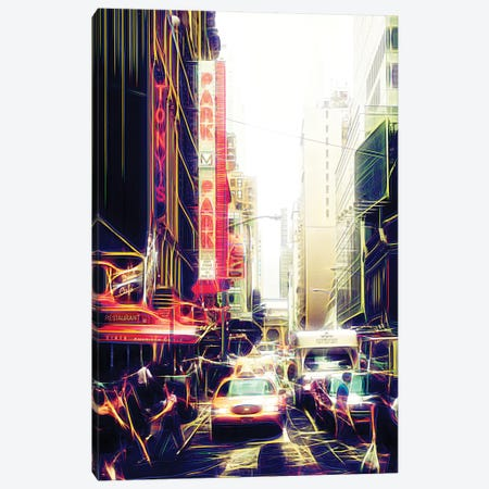 Park Station Canvas Print #PHD430} by Philippe Hugonnard Art Print