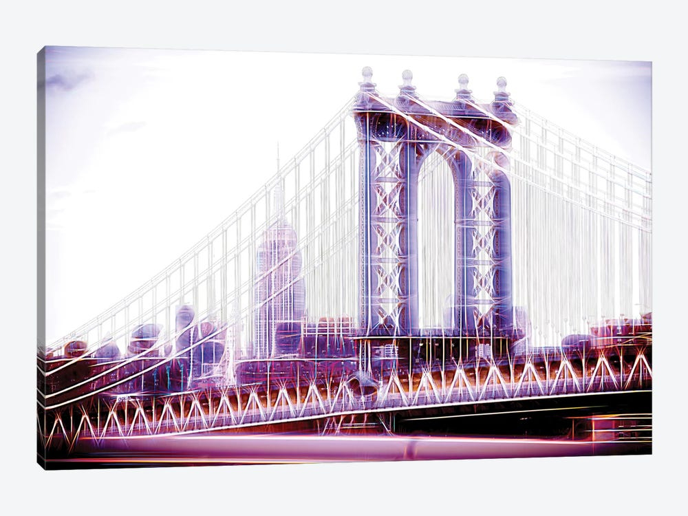 Purple Bridge by Philippe Hugonnard 1-piece Canvas Art Print