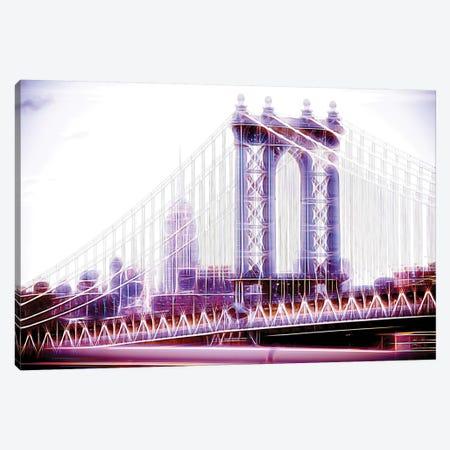 Purple Bridge Canvas Print #PHD433} by Philippe Hugonnard Canvas Art Print