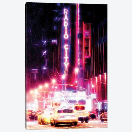 Radio City Canvas Print #PHD434} by Philippe Hugonnard Canvas Artwork
