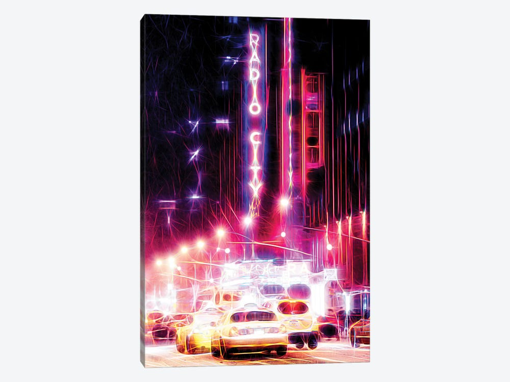 Radio City by Philippe Hugonnard 1-piece Canvas Wall Art