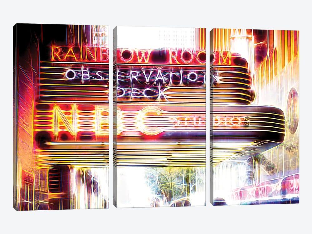 Rainbow by Philippe Hugonnard 3-piece Canvas Art