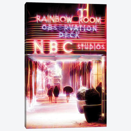 Rainbow Room Canvas Print #PHD437} by Philippe Hugonnard Canvas Art