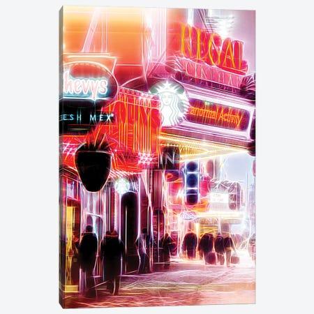 Red Activity Canvas Print #PHD438} by Philippe Hugonnard Art Print