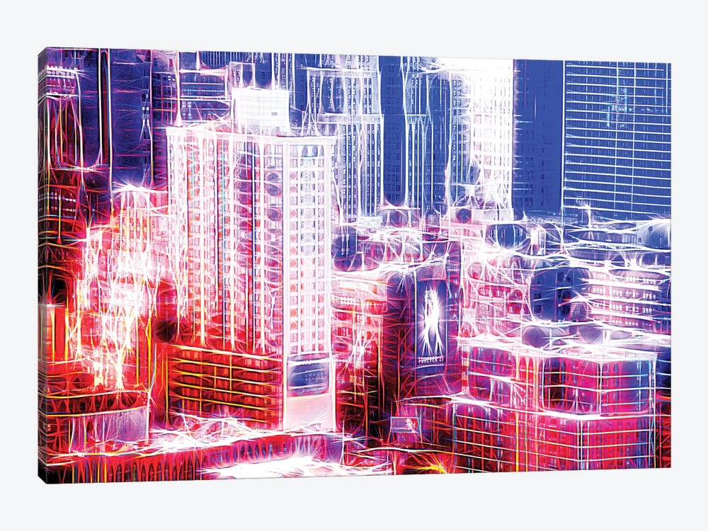 Red Electric by Philippe Hugonnard 1-piece Canvas Art Print