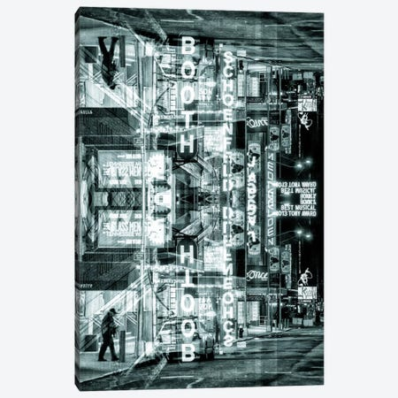 Broadway Canvas Print #PHD43} by Philippe Hugonnard Canvas Wall Art