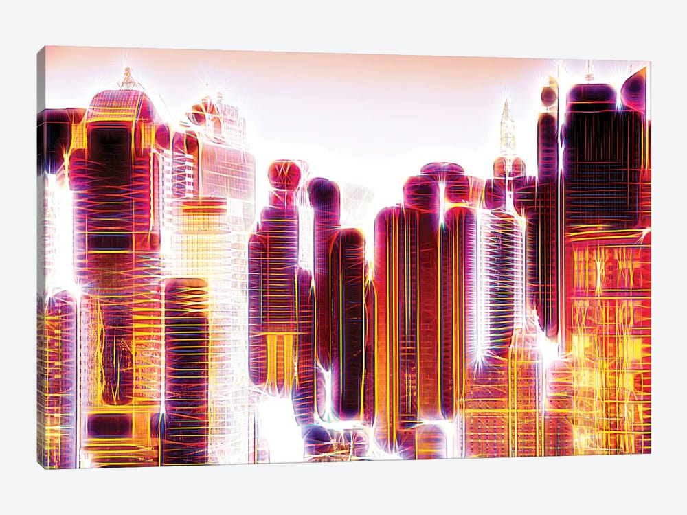 Red Lights I by Philippe Hugonnard 1-piece Canvas Art