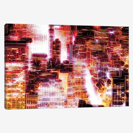 Red Lights II Canvas Print #PHD442} by Philippe Hugonnard Canvas Artwork