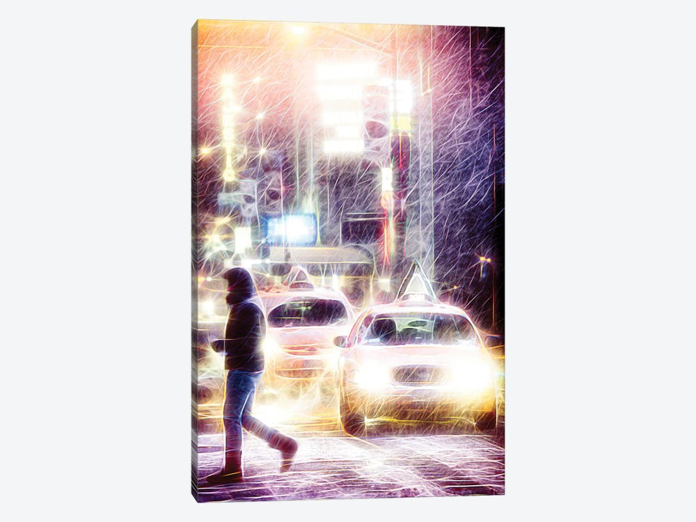 Snow Storm by Philippe Hugonnard 1-piece Canvas Wall Art