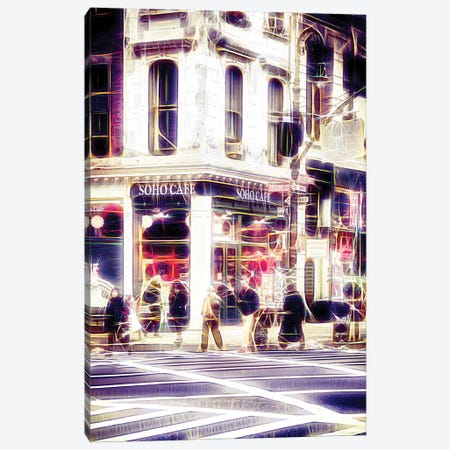 Soho Café Canvas Print #PHD453} by Philippe Hugonnard Canvas Print