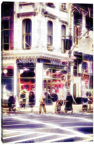 Soho Café Canvas Art Print