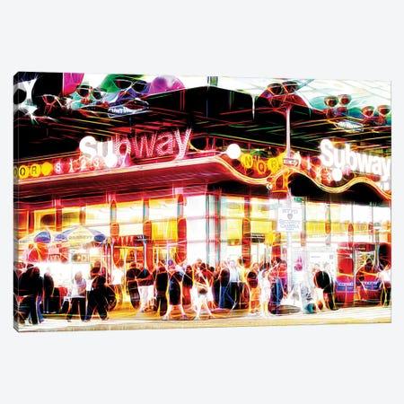 Subway Station Canvas Print #PHD457} by Philippe Hugonnard Canvas Art