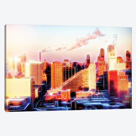 Sunset Canvas Print #PHD458} by Philippe Hugonnard Canvas Print