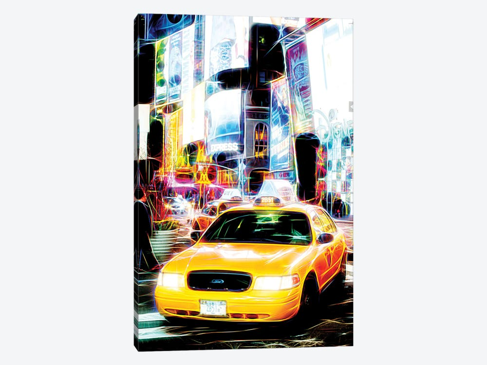 Taxi Fevers by Philippe Hugonnard 1-piece Art Print
