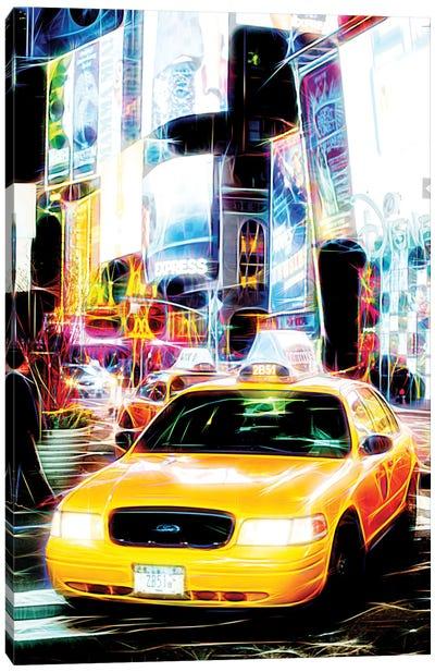 Taxi Fevers Canvas Art Print