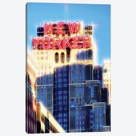 The New Yorker Canvas Print #PHD461} by Philippe Hugonnard Canvas Artwork