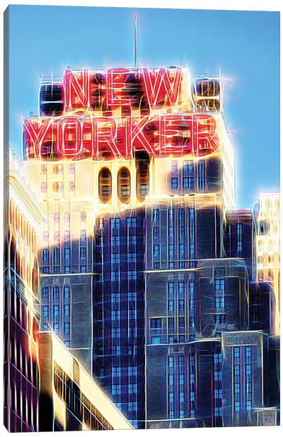 The New Yorker Canvas Art Print