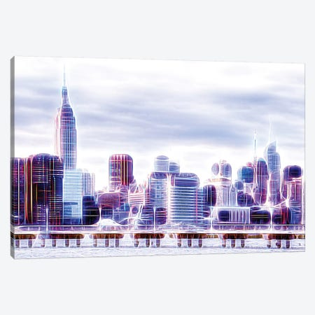 The Skyline Canvas Print #PHD462} by Philippe Hugonnard Canvas Artwork