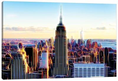The Skyscrapers Canvas Art Print