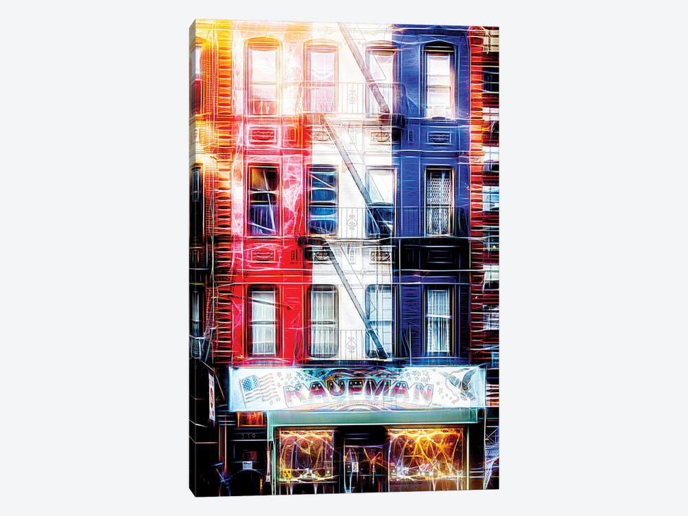 US Facade by Philippe Hugonnard 1-piece Canvas Art Print