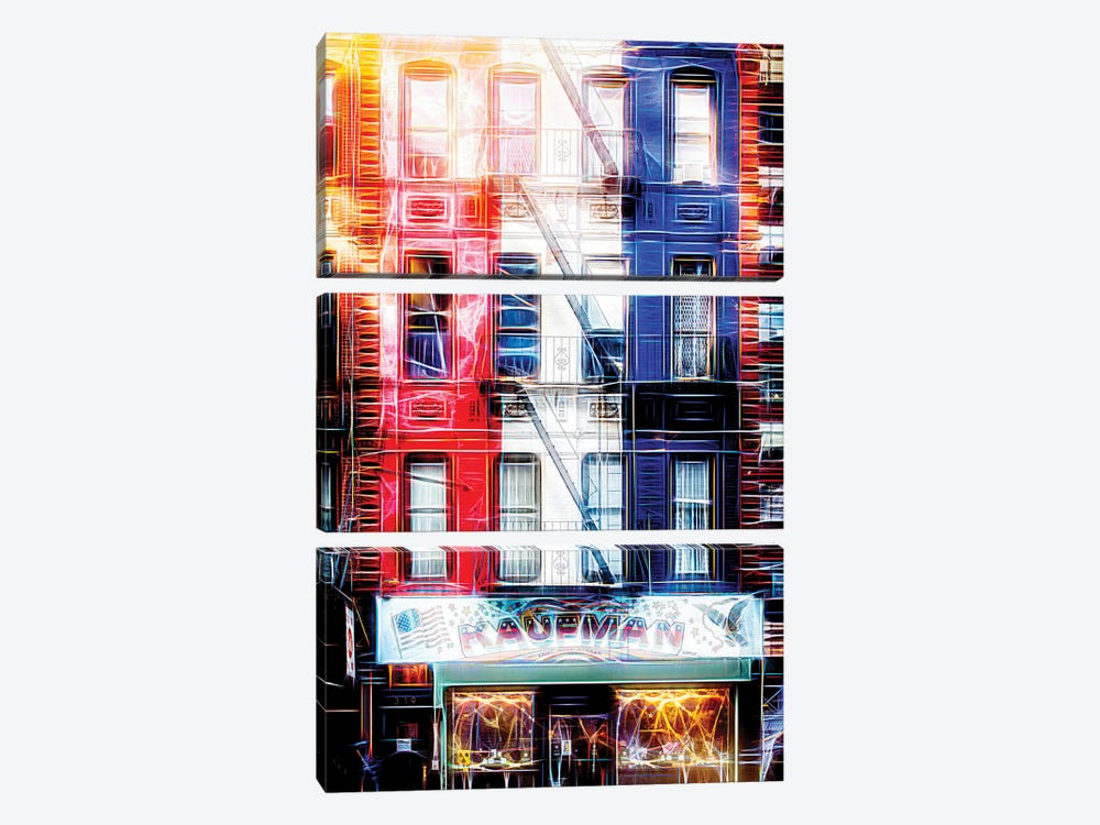 US Facade by Philippe Hugonnard 3-piece Art Print