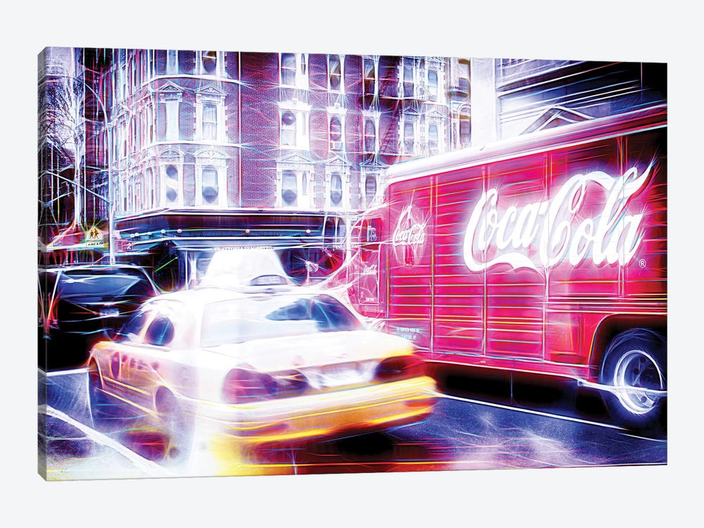 US Transportation by Philippe Hugonnard 1-piece Canvas Wall Art