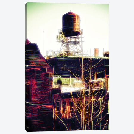 Water Tank Canvas Print #PHD470} by Philippe Hugonnard Art Print