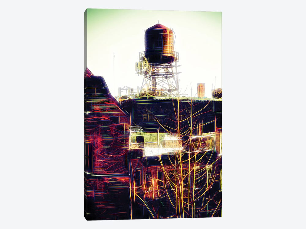 Water Tank by Philippe Hugonnard 1-piece Canvas Art
