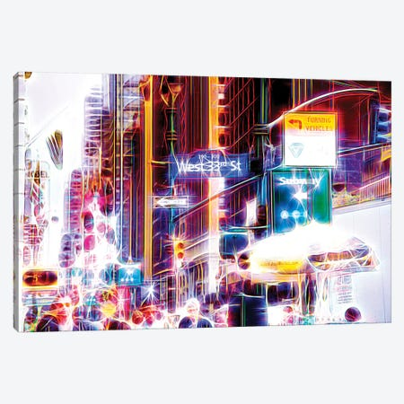 West 33rd Street Canvas Print #PHD471} by Philippe Hugonnard Art Print
