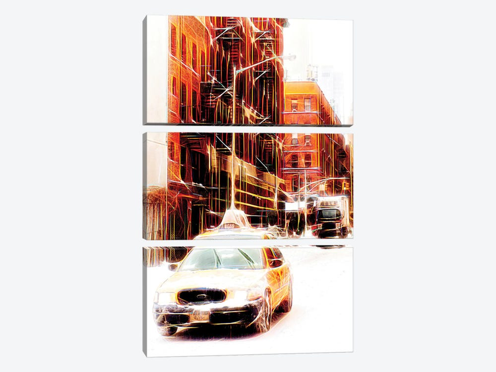 Winter Day by Philippe Hugonnard 3-piece Art Print