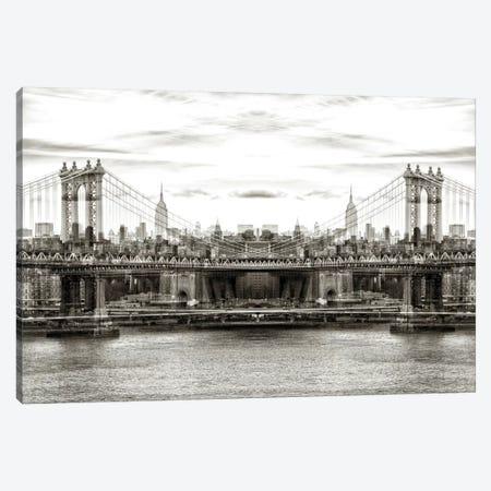 Manhattan Bridge Canvas Print #PHD47} by Philippe Hugonnard Canvas Art Print
