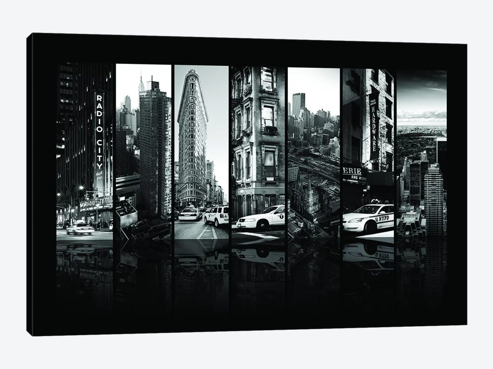 Seven Of 7 NYC B&W I by Philippe Hugonnard 1-piece Art Print