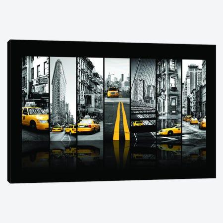 Seven Of 7 NYC B&W III Canvas Print #PHD484} by Philippe Hugonnard Canvas Print