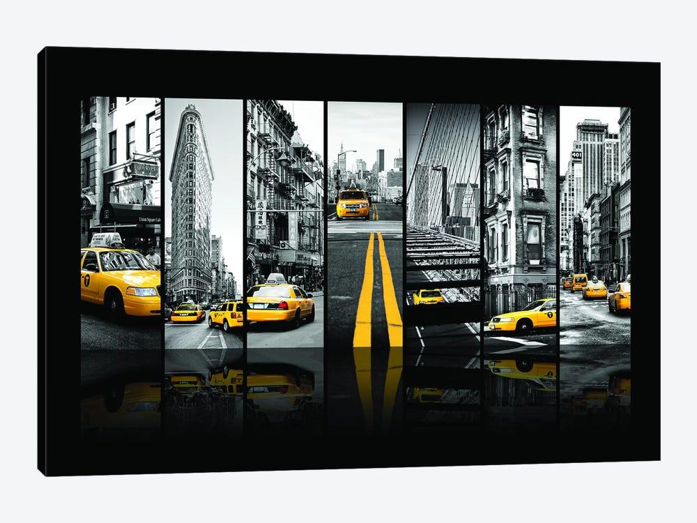 Seven Of 7 NYC B&W III by Philippe Hugonnard 1-piece Canvas Art Print