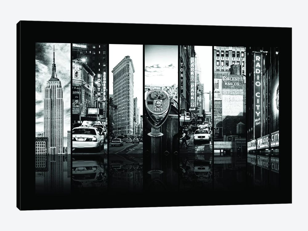 Seven Of 7 NYC B&W IV by Philippe Hugonnard 1-piece Canvas Wall Art