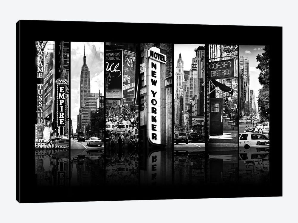 Seven Of 7 NYC B&W V by Philippe Hugonnard 1-piece Canvas Print