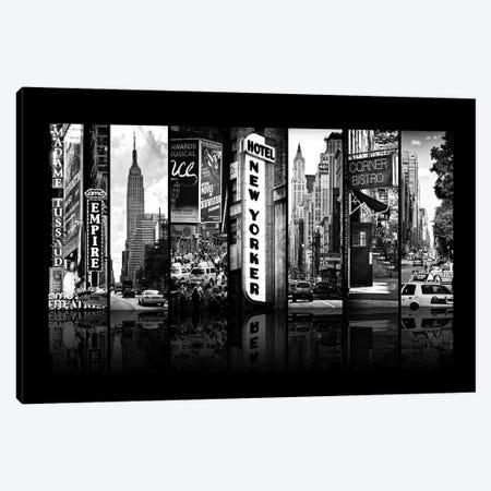 Seven Of 7 NYC B&W V Canvas Print #PHD486} by Philippe Hugonnard Art Print