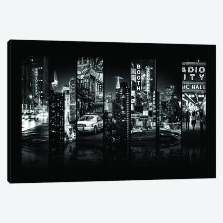 Seven Of 7 NYC B&W VI Canvas Print #PHD487} by Philippe Hugonnard Art Print