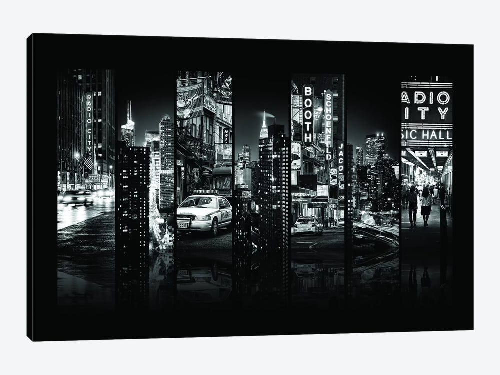 Seven Of 7 NYC B&W VI by Philippe Hugonnard 1-piece Canvas Wall Art