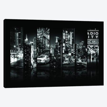 Seven Of 7 NYC B&W VI Canvas Print #PHD487} by Philippe Hugonnard Art Print