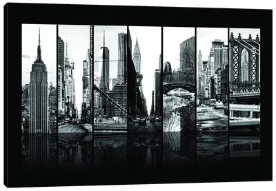 Seven Of 7 NYC B&W VII Canvas Art Print