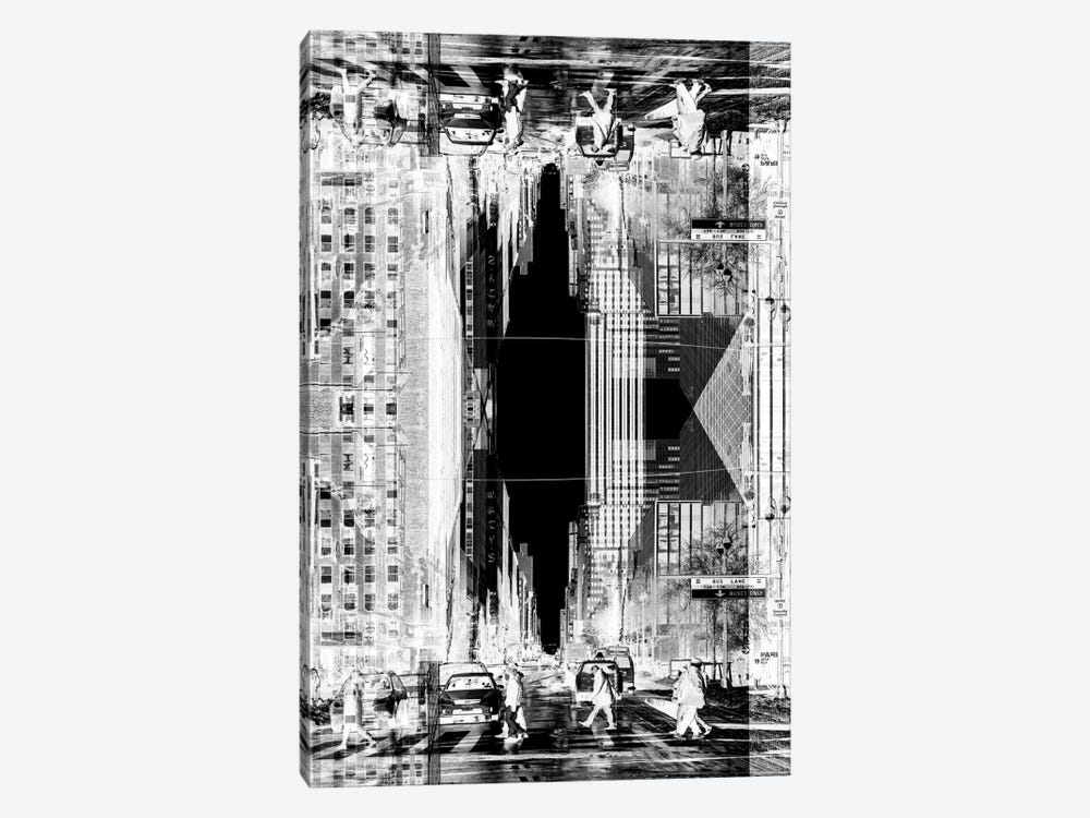 New York Reflection - Manhattan Life by Philippe Hugonnard 1-piece Canvas Art