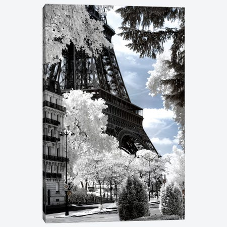 Another Look - Eiffel Tower Canvas Print #PHD491} by Philippe Hugonnard Canvas Print