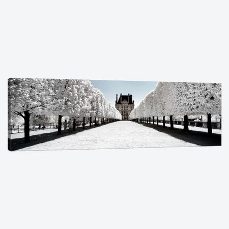 Another Look - Paris Louvre Canvas Print #PHD495} by Philippe Hugonnard Canvas Artwork