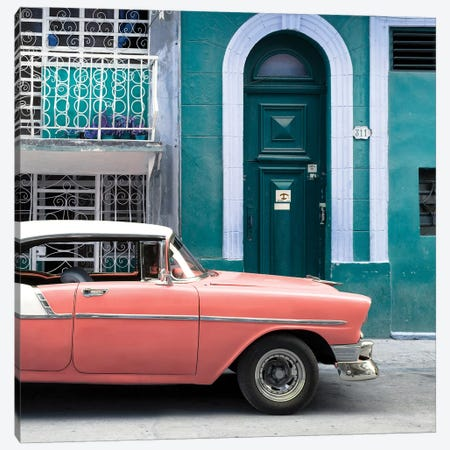 Classic Car In Havana Canvas Print #PHD499} by Philippe Hugonnard Canvas Print