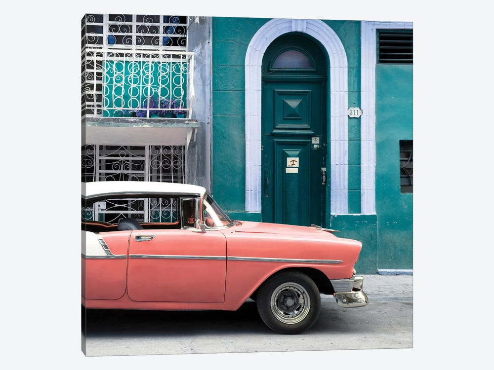 Classic Car In Havana by Philippe Hugonnard 1-piece Canvas Print