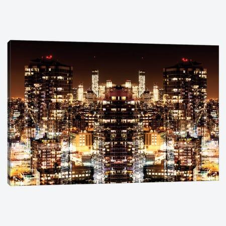 Manhattan Night Canvas Print #PHD49} by Philippe Hugonnard Canvas Artwork
