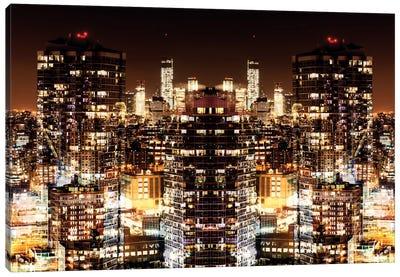 Manhattan Night Canvas Art Print